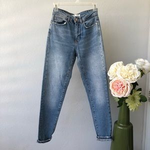 Zara High Waist Mom Jeans 32 /0
